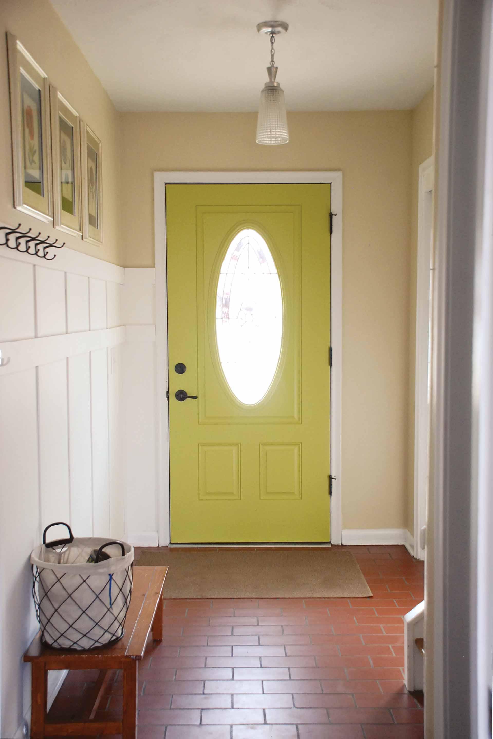painted door Covington Blue – One Cherry Tree Lane
